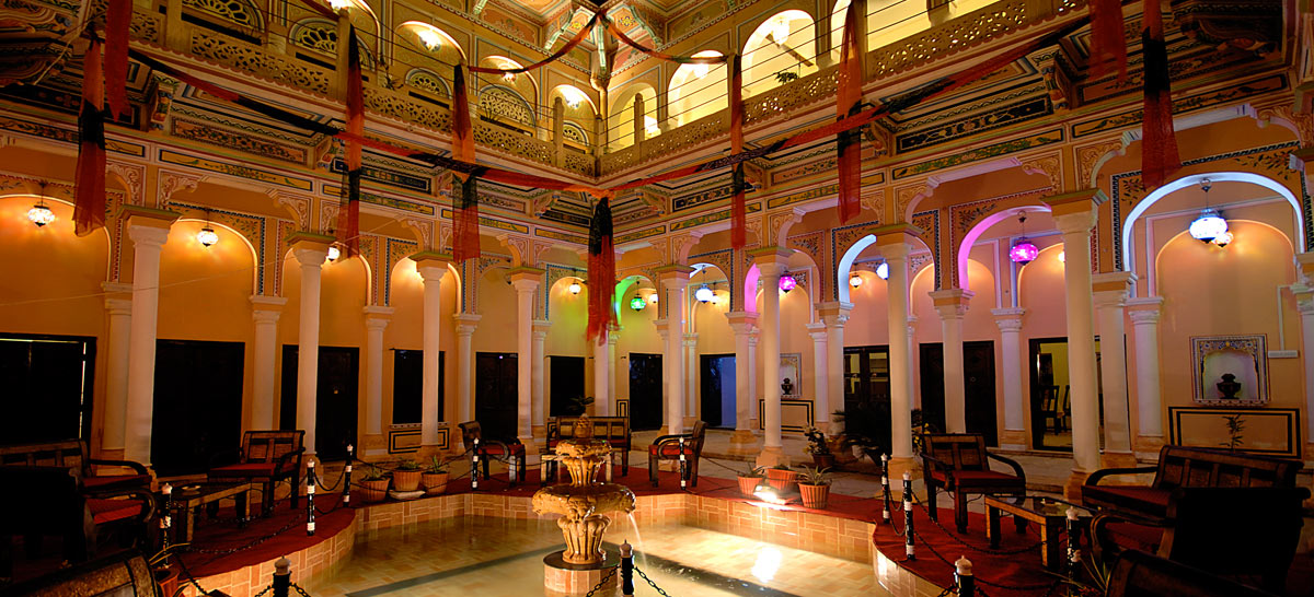 The Grand Haveli and Resort - Certified Heritage Property by the Ministry of tourism in Nawalgarh / India